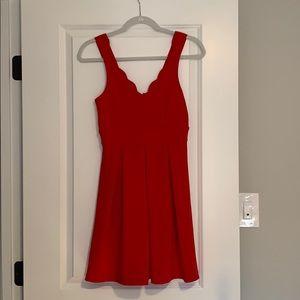 Express Red summer dress